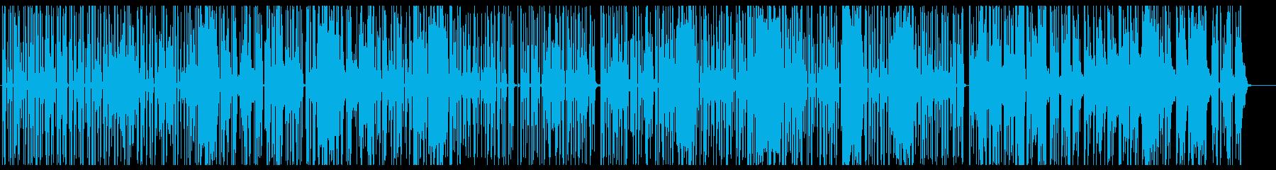 鋭いパルスによるサスペンスシーンなどの再生済みの波形