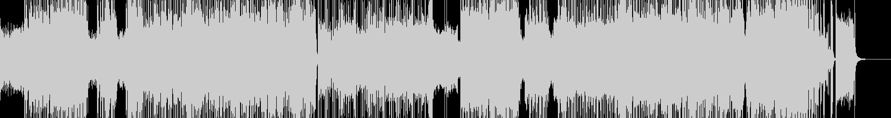 コミカルキュートなハロウィンロック Bの未再生の波形