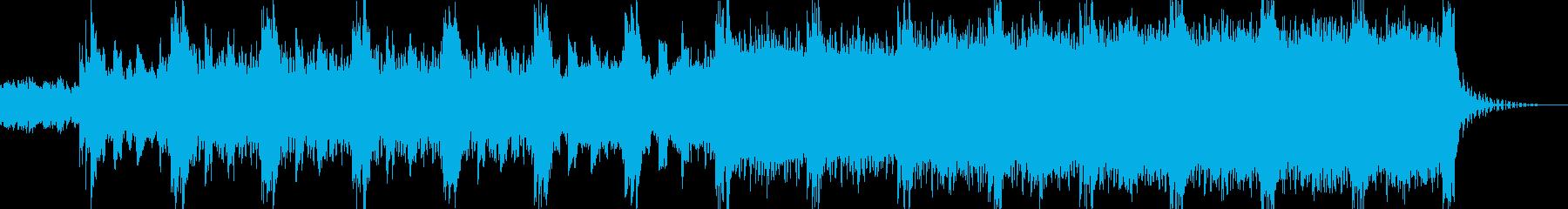 ピアノメインの疾走感溢れるドラムンベースの再生済みの波形
