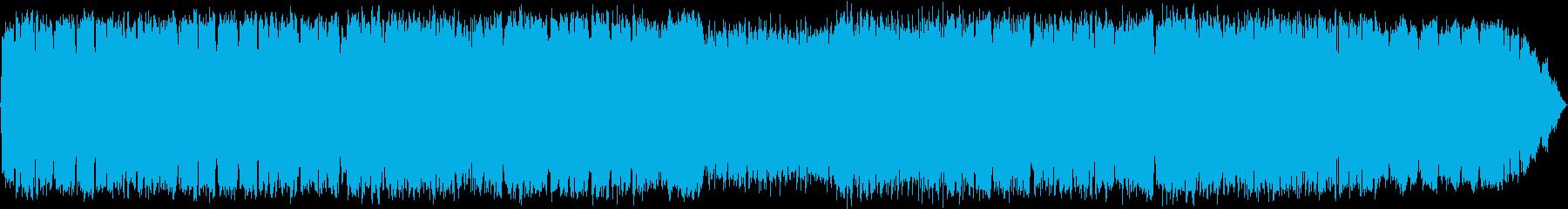 ひっそりとした夜の雰囲気のケーナ演奏の再生済みの波形