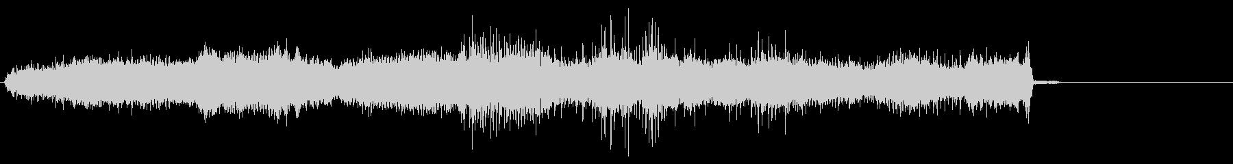 電気ドリル8の未再生の波形