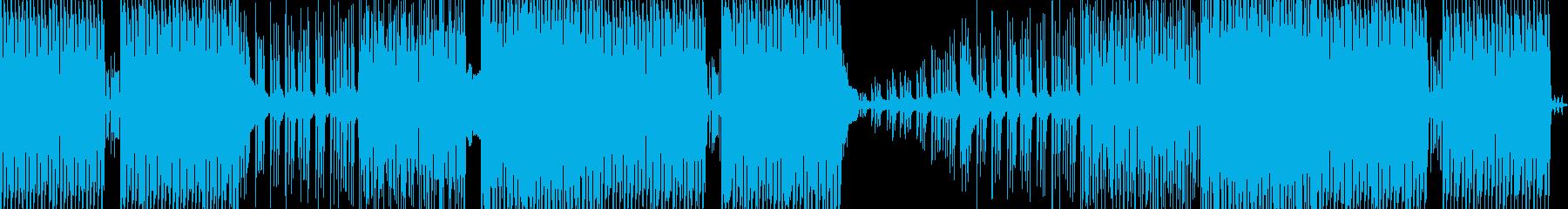 ファンキーなシンセポップ/エレクト...の再生済みの波形