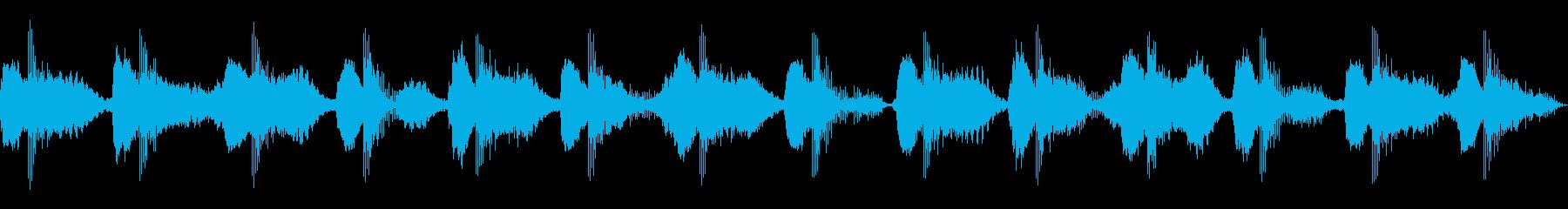 ヒーリングアンビエント_Aの再生済みの波形