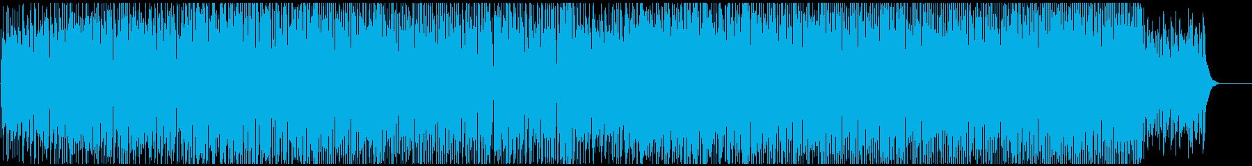 アコースティックポップ ダンスパーティ風の再生済みの波形