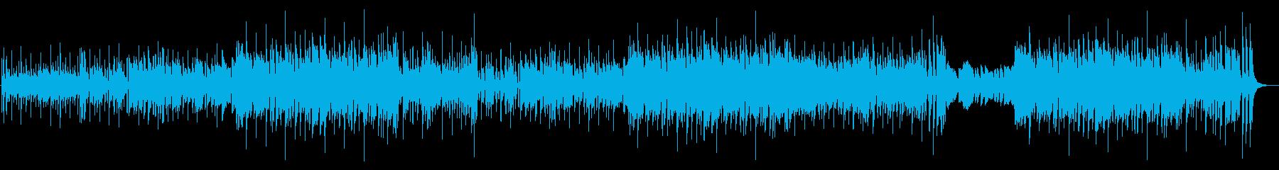 夏らしく楽しい雰囲気のトランペット曲の再生済みの波形