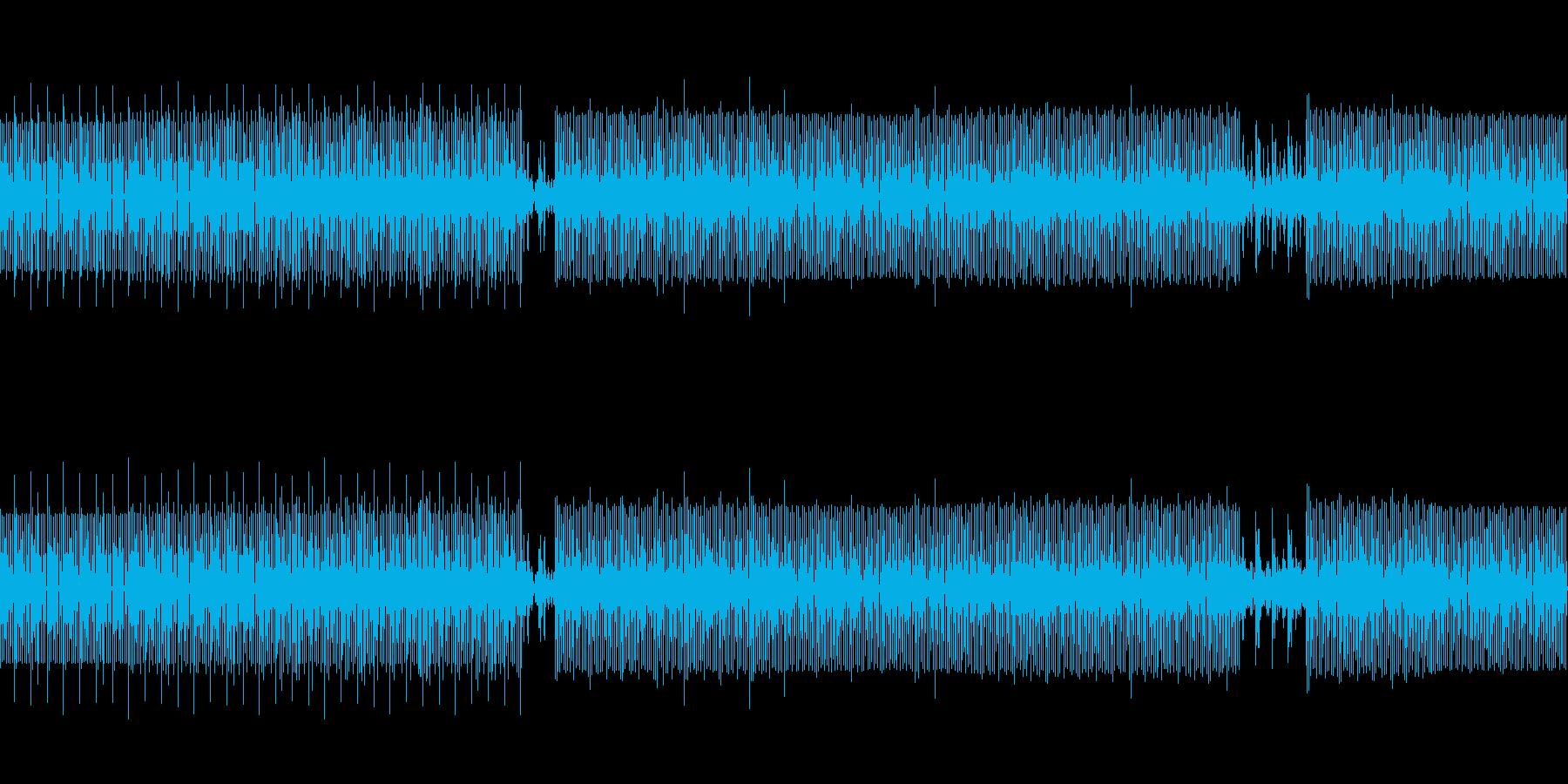 jazzの要素を取り入れたハウス、テクノの再生済みの波形
