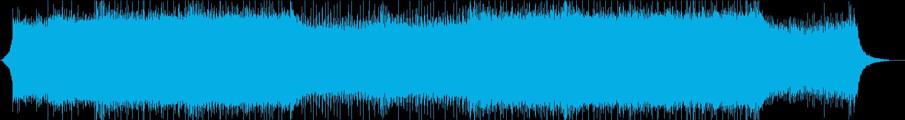 EDM、エレクトロ、シンセ、ノリノリの再生済みの波形