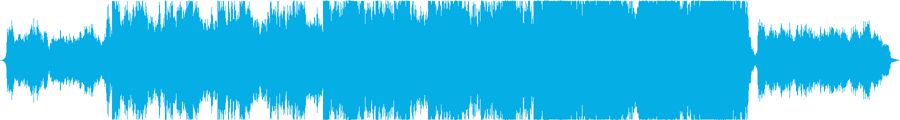 Game powerful drama background's reproduced waveform