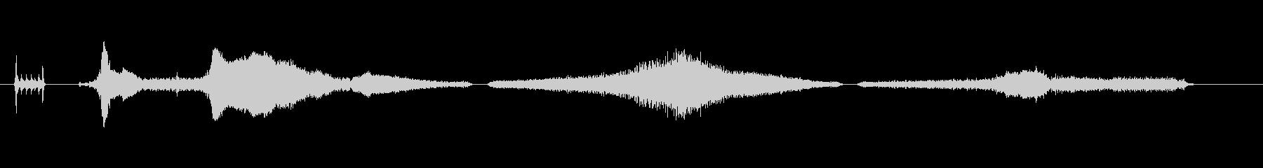 車-メルセデスディーゼル-シーケンスの未再生の波形