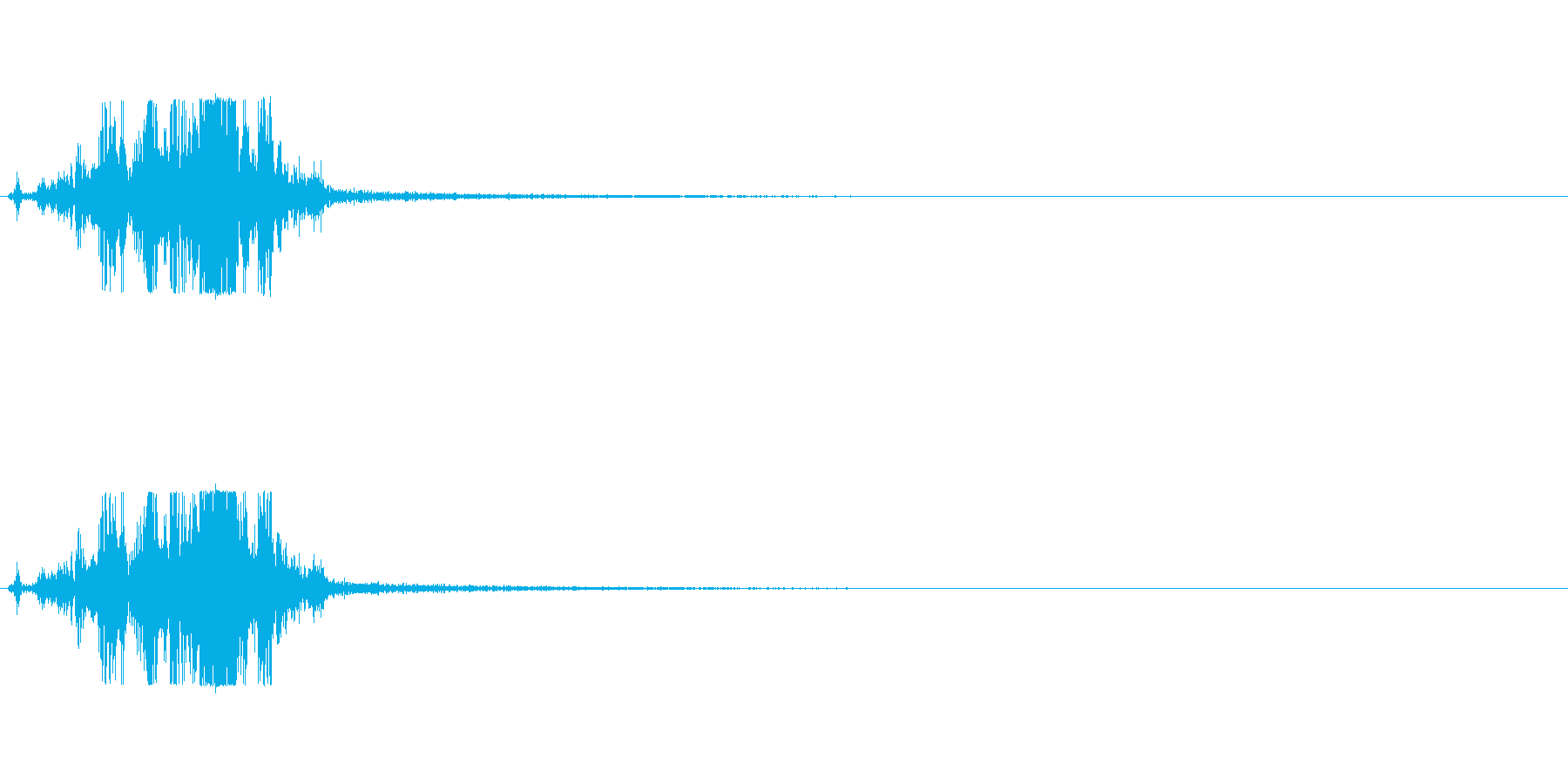 マント-1 (バサッ)の再生済みの波形