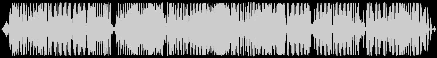深宇宙ラジオの高チューニングの未再生の波形