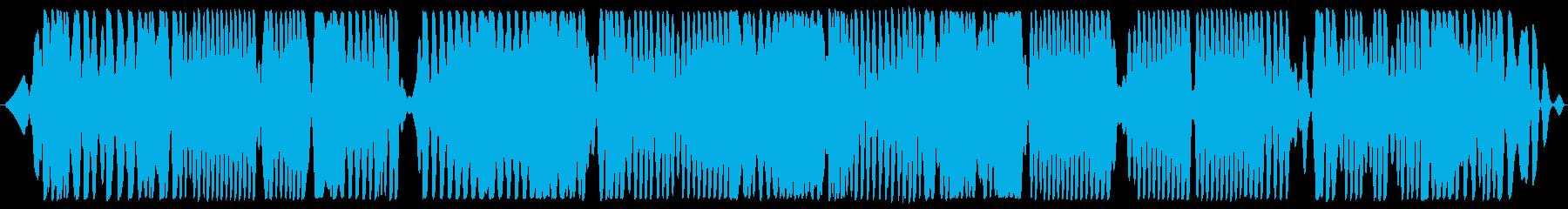 深宇宙ラジオの高チューニングの再生済みの波形