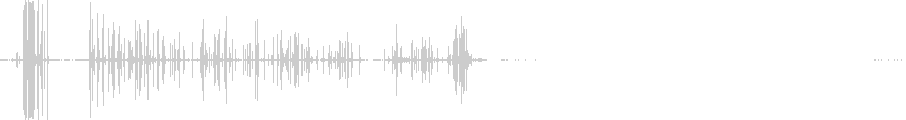 ベルクロリップスクローズパースペク...の未再生の波形