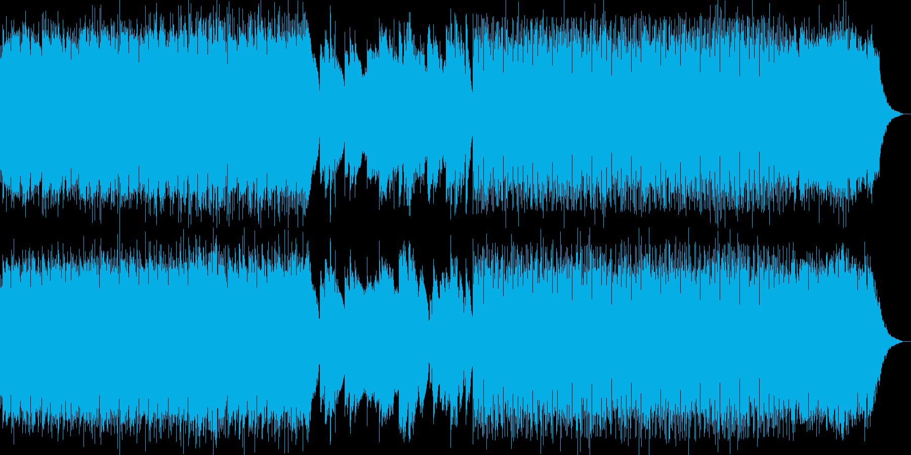 Lo-Fi アンビエント ギター 始まりの再生済みの波形