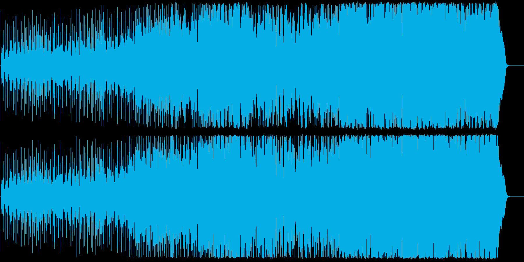 Butterflyの再生済みの波形