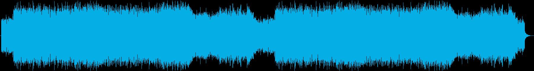 吹きすさぶ風の山巓BGMの再生済みの波形