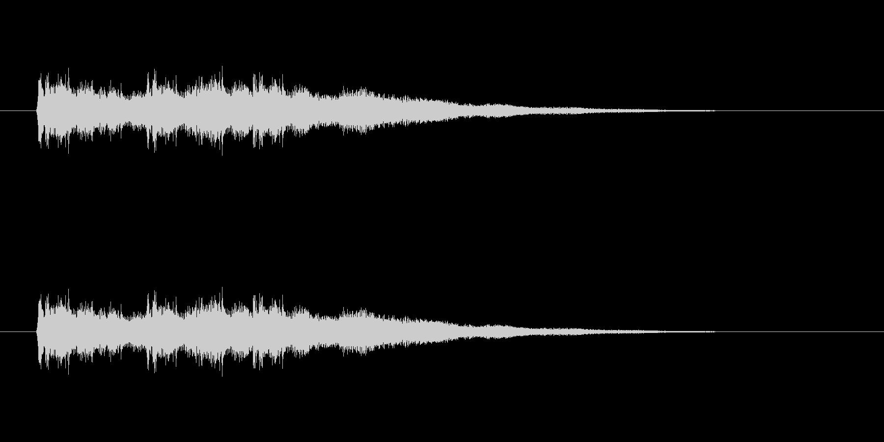【競技用ゴング02-3】の未再生の波形