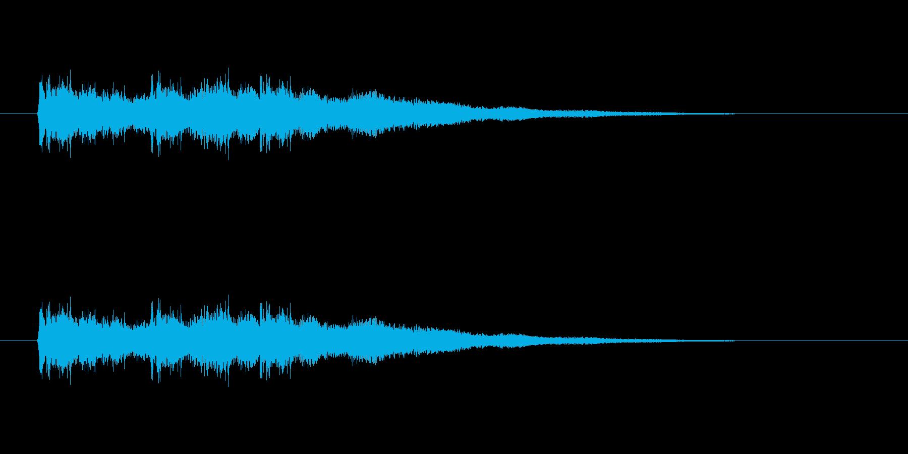 【競技用ゴング02-3】の再生済みの波形