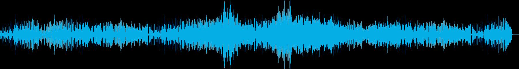 クライスレリアーナ第5曲の再生済みの波形