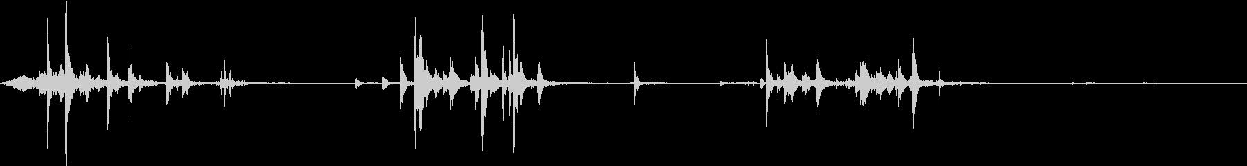 【生録音】ハンガーの音 3 探すの未再生の波形
