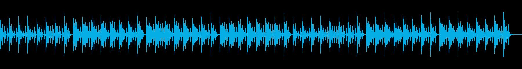 優しく包み込むような音色の再生済みの波形