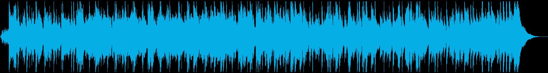 生演奏・ハーモニカとバイオリンのバラードの再生済みの波形