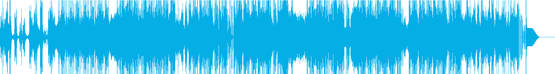 ハープシコードを用いたHipHopの再生済みの波形