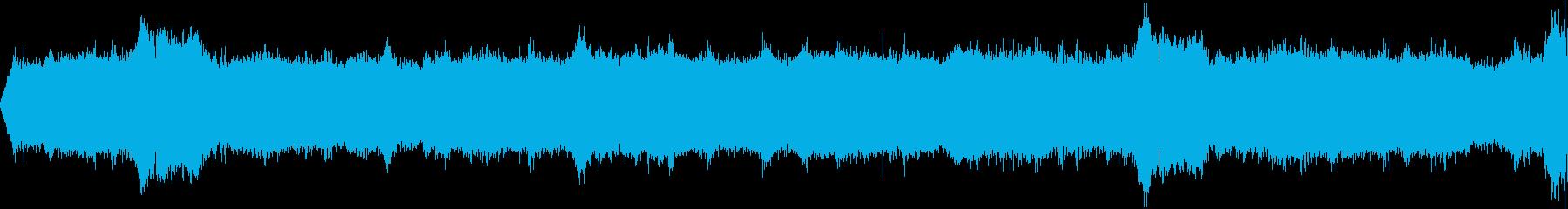 【環境音25分】夕方のスズムシやコオロギの再生済みの波形