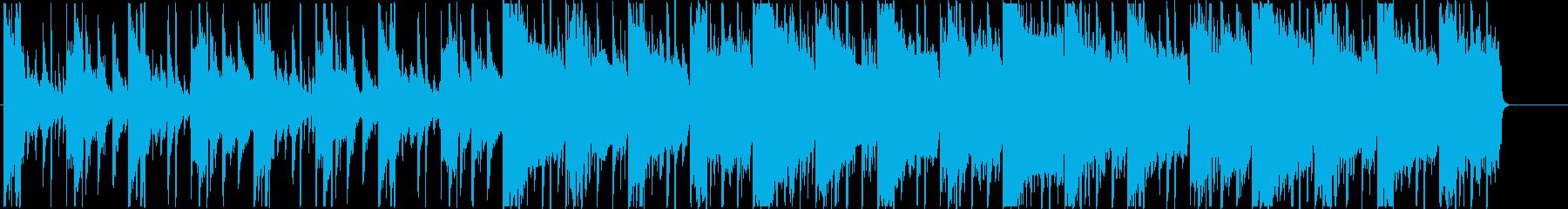 哀愁を感じるチルアウト系のR&Bの再生済みの波形