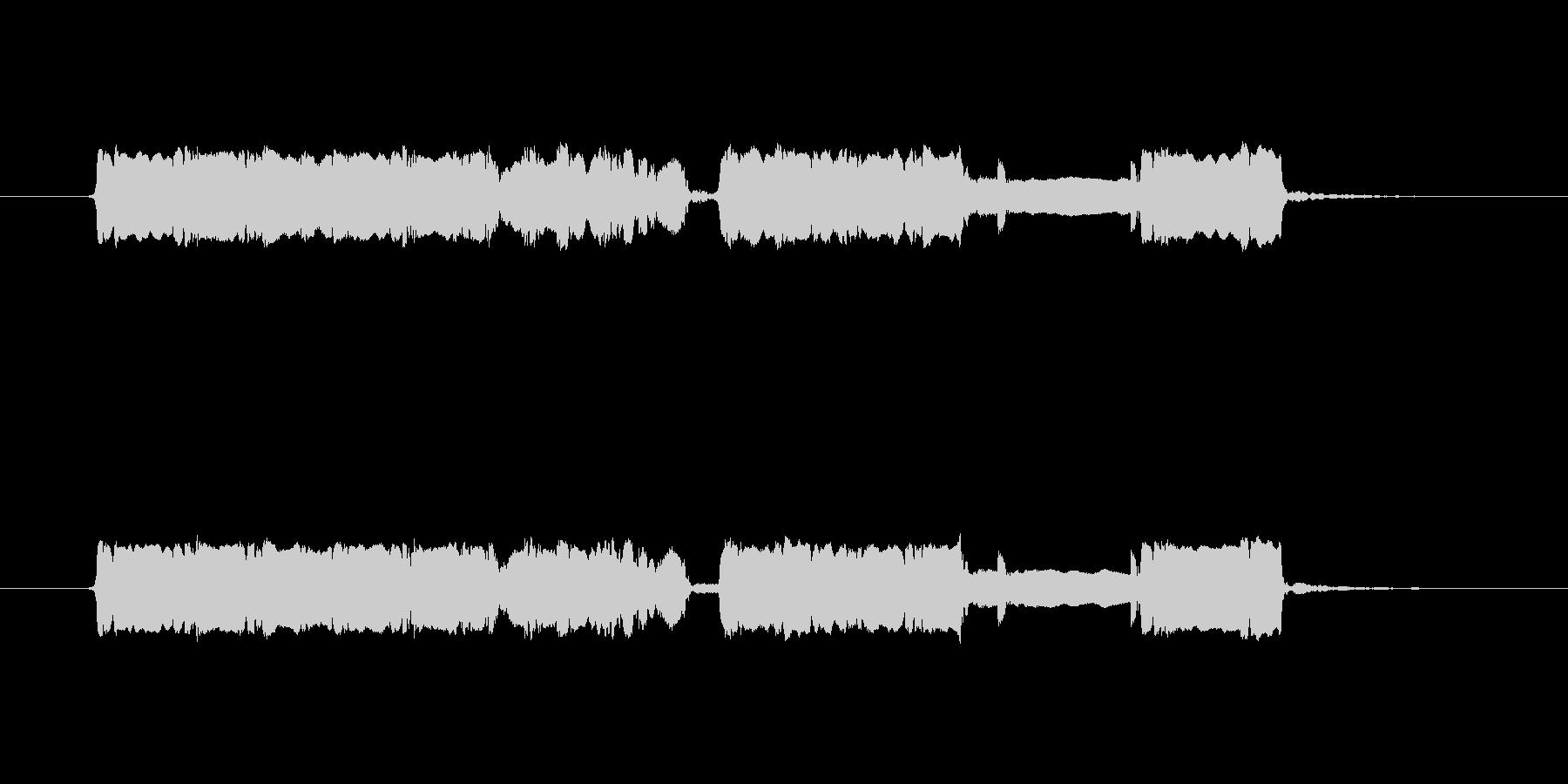 神楽風 篠笛生演奏のジングルの未再生の波形