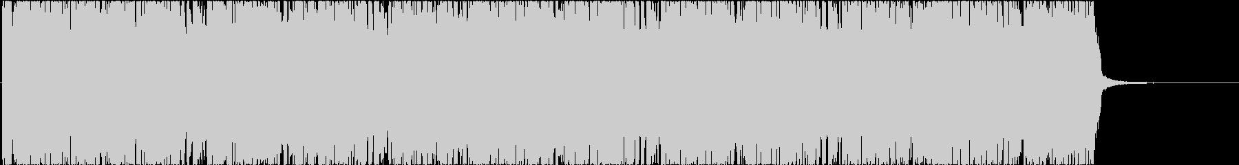 バトルゲーム用のヘヴィなロック曲-短縮版の未再生の波形