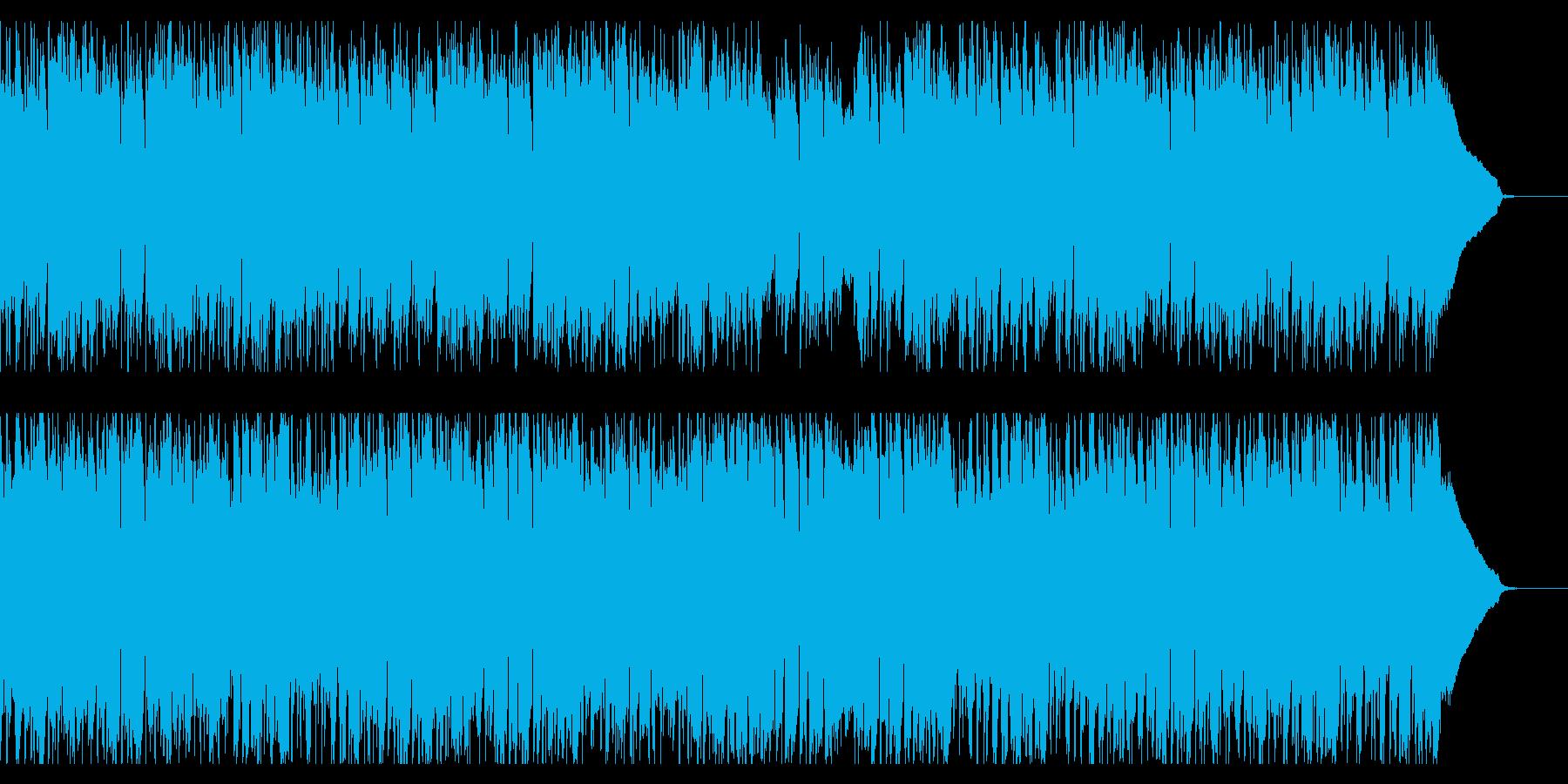 妖艶で憂い気のあるシンプルなジャズの再生済みの波形