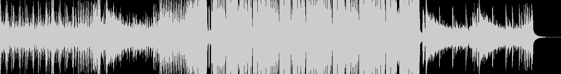 不気味なRiddim、ダブステップの未再生の波形