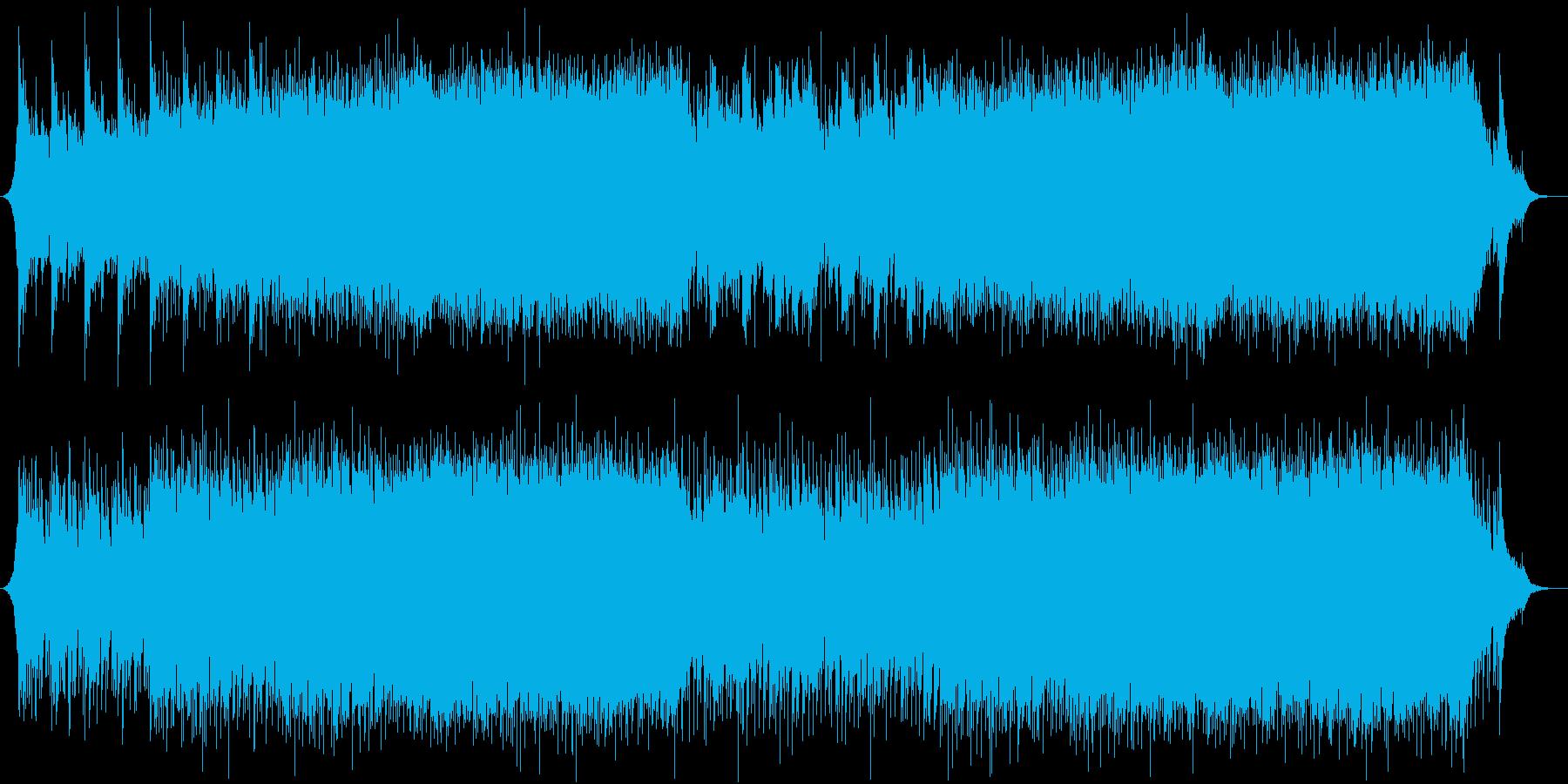 生演奏バイオリンとオーケストラ感動ポップの再生済みの波形