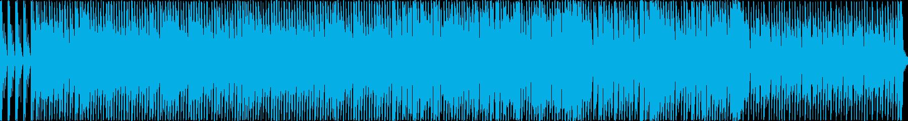 ドタバタ系の明るく楽しいポップスの再生済みの波形