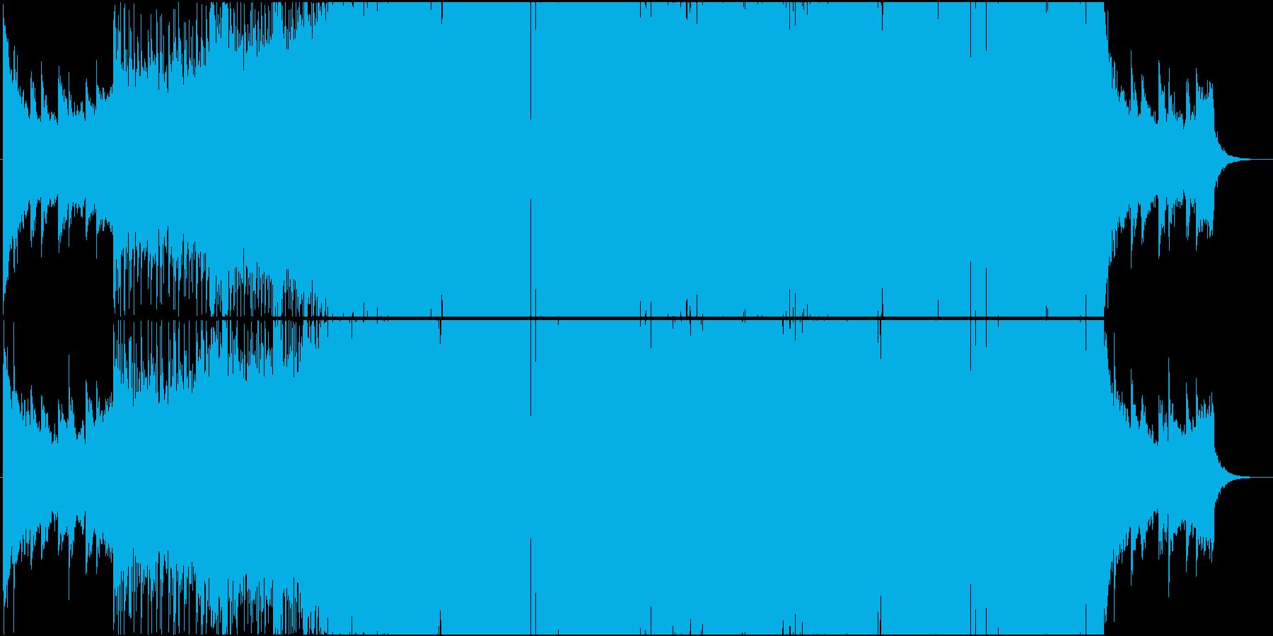 重厚系ダブステップの再生済みの波形