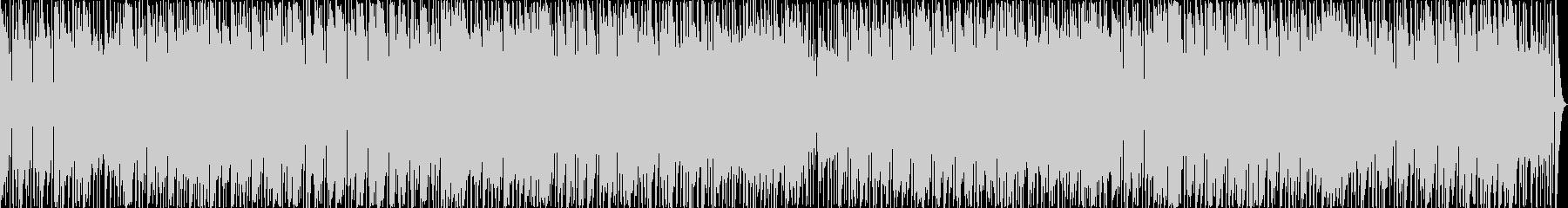 音符が細かい楽しい16ビートサウンドの未再生の波形