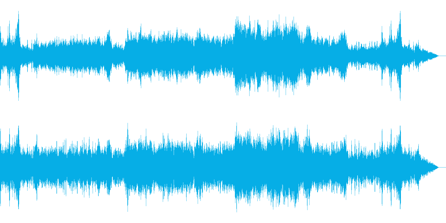 RPG:戦闘シーン用BGM1の再生済みの波形