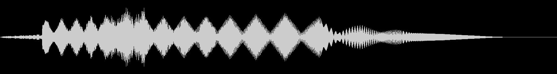 ピョーイ(ノイズ/不思議/ファミコン宇宙の未再生の波形