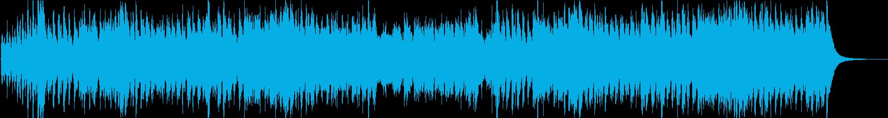 羽ばたくようなCM映像向けオーケストラの再生済みの波形