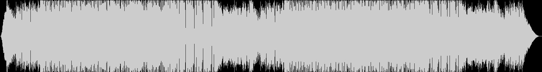 ピアノのアルペジオがメインのバンド曲の未再生の波形