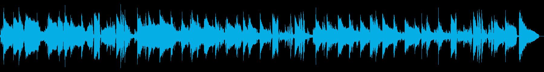 落ち着いた大人のジャズBGMの再生済みの波形