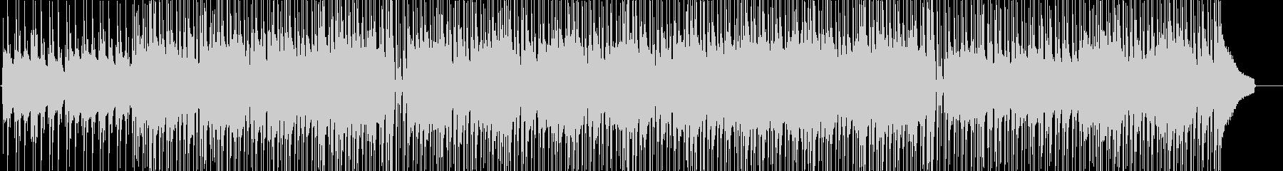 楽しくスキップするようなウクレレの未再生の波形