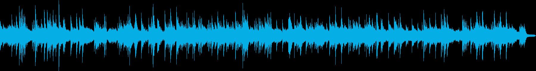 ピアノソロの優しく切ないバラードの再生済みの波形