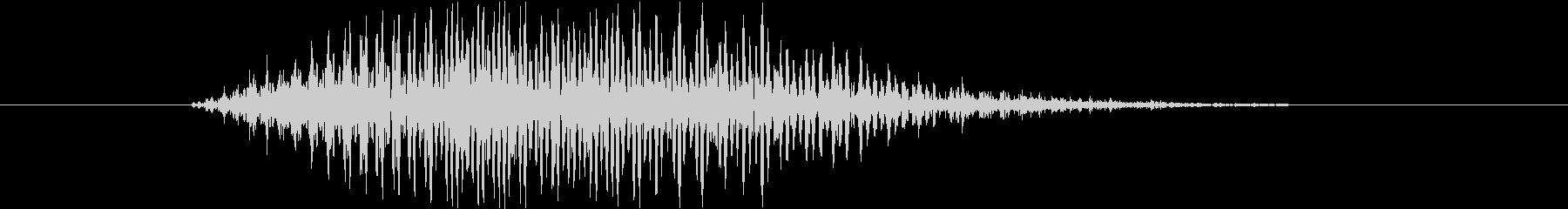 鳴き声 男性コンバットヒットハード16の未再生の波形