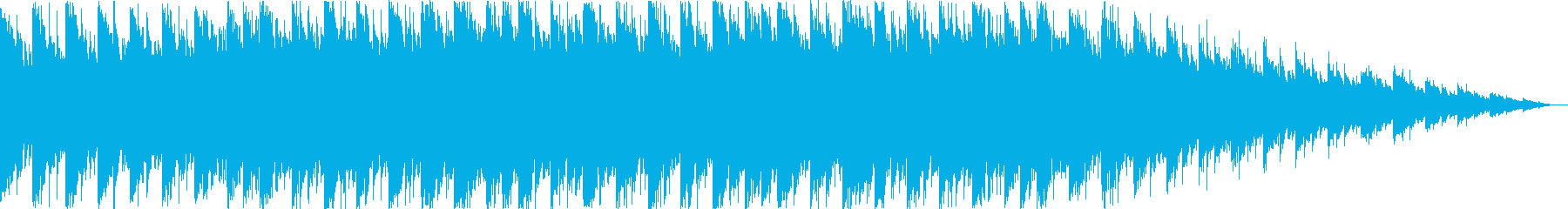 クリスマス系のキラキラした曲 の再生済みの波形