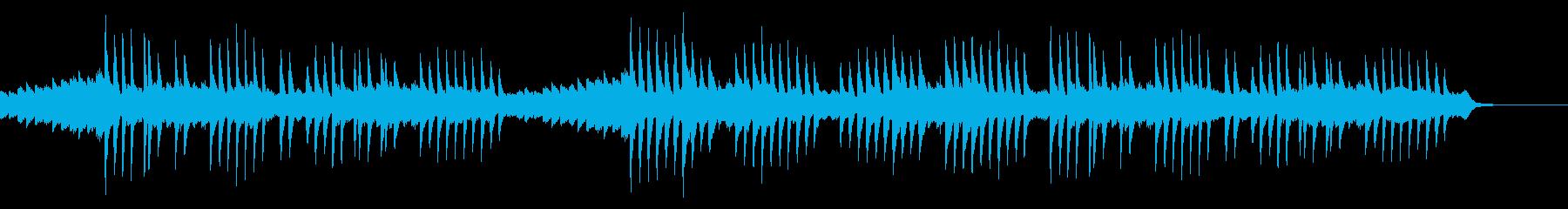 どこか切ない童話のようなピアノの曲の再生済みの波形
