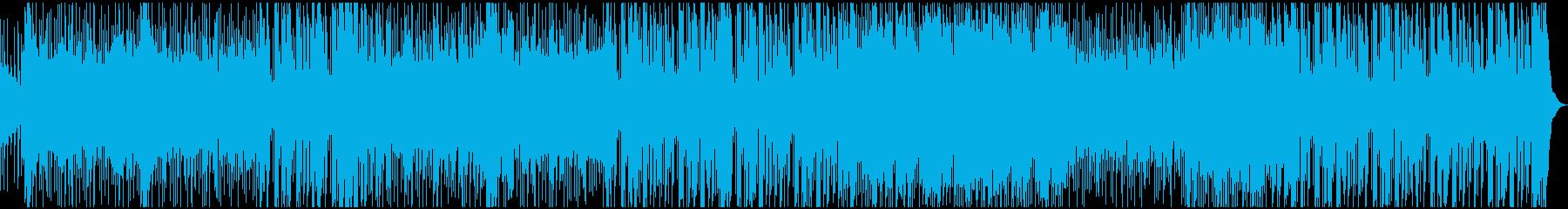 ミッドテンポのエレクトロニックビー...の再生済みの波形