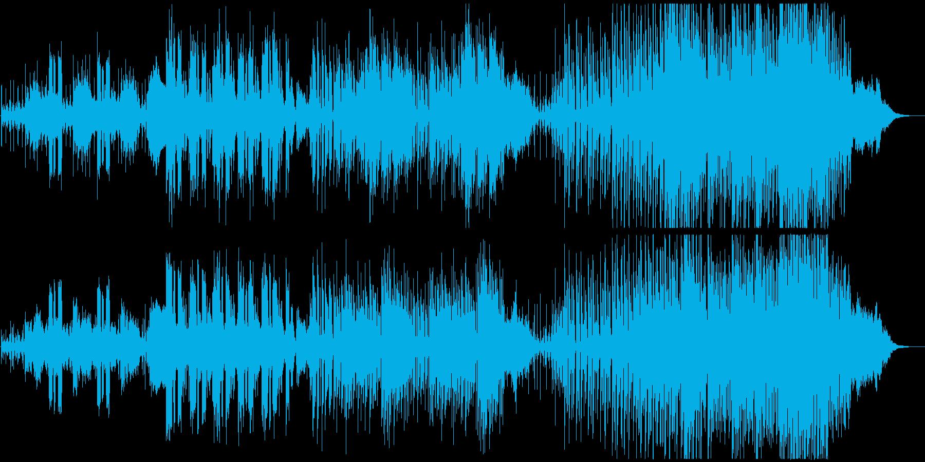 【劇伴】暴露するシーンに_シンセサウンドの再生済みの波形