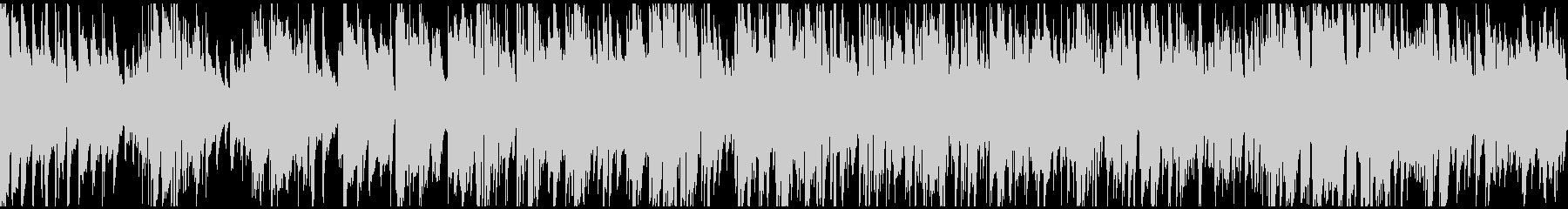 リラックス系まったりジャズ※ループ仕様版の未再生の波形